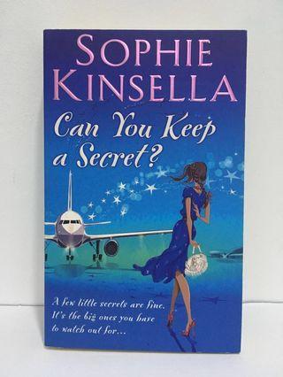 Can You Keep a Secret? by Sophie Kinsella (English Novel, English Book, Fiction) #MFEB20