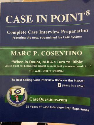 Case in Point - Consulting Case Interview Guide by Cosentino