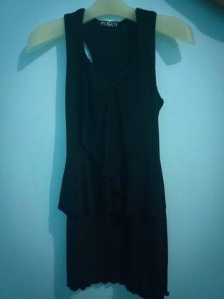 Minidress black