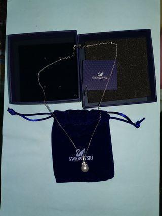 🚚 施華洛世奇 珍珠項鍊