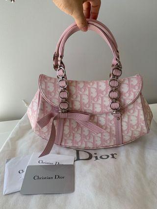Christian Dior Romantique Trotter Bag Pink