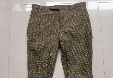 Vintage 復古波點長褲