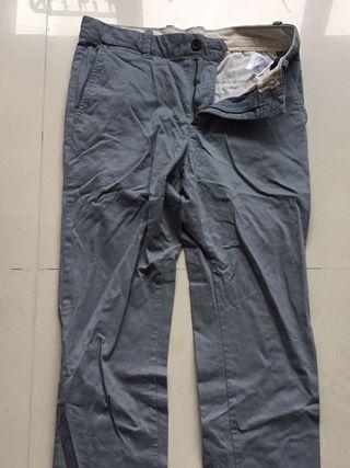 Vintage 復古天空藍色長褲
