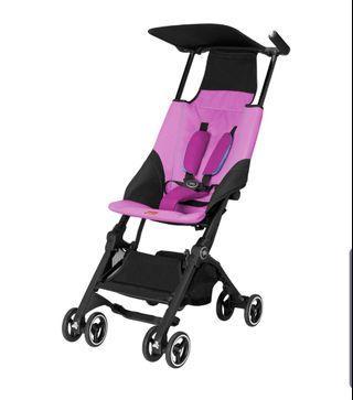 GB pockit stroller posh pink