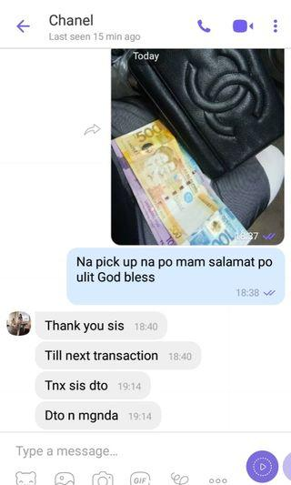 Thru lalamoved happy client