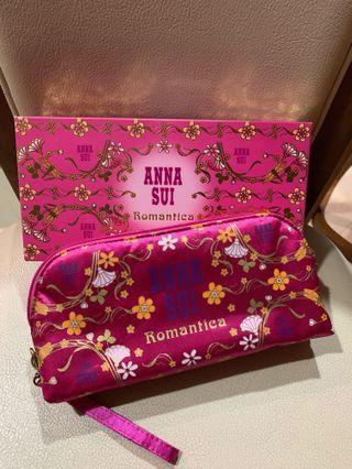 💯Original New Anna Sui Romantica Pouch #OYOHOTEL
