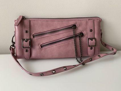 Pink Clutch Handbag