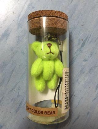 幸運小熊鎖匙扣
