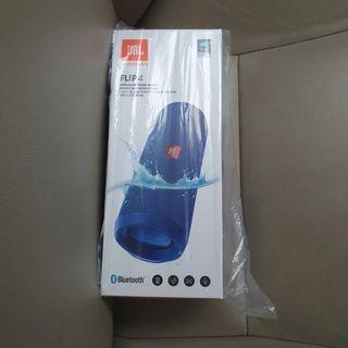 Sealed Jbl Flip 4  Speaker(Blue)