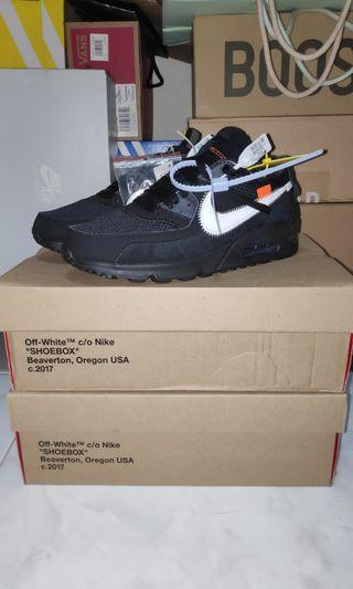 Off-White Nike Air Max 90 Black