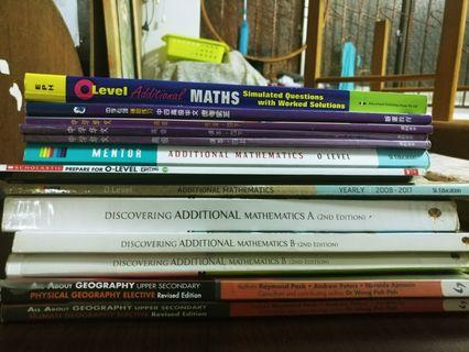 Secondary School Textbooks , Workbooks and Exercise books