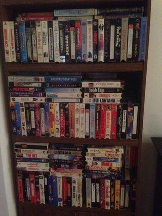 300+ Hollywood Blockbuster Movies, Full Home Library VHS Collection (All in Collectors Edition Boxes)
