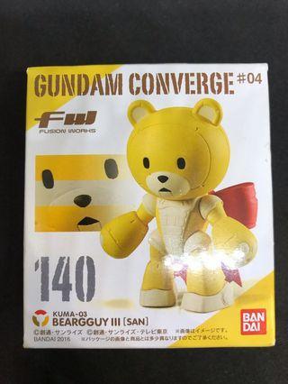 Gundam Converge #04 140 Beargguy III