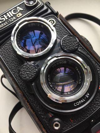 Yashica Mat-24G TLR film camera