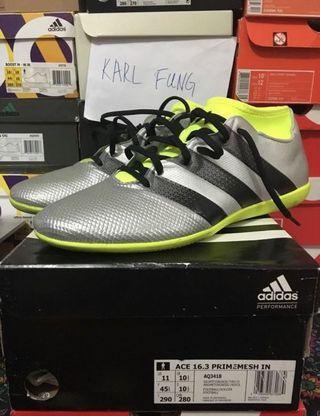 Adidas Ace 16.3 Primemesh in us11 波boot 足球鞋