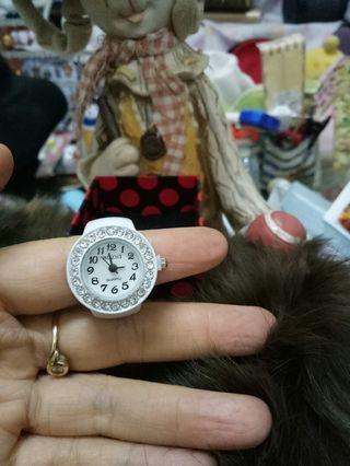 全新戒指晶鑽手錶