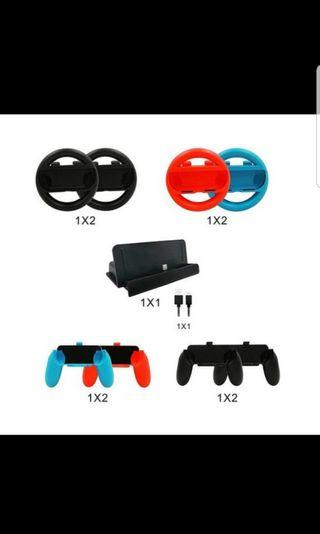 10 In 1 Nintendo Switch Accessory Kits Sets