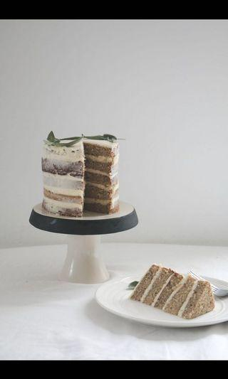 EARL GREY CREAM CHEESE CAKE