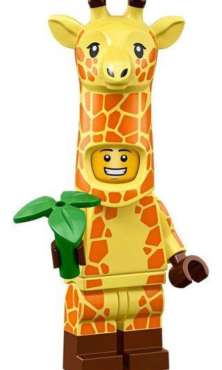 Lego Movie 2 71023 Minifigure Giraffe Guy #4 In Sealed Pack (not disney; avenger)