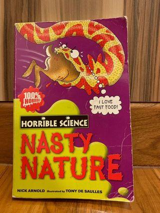 🚚 Horrible Science - Nasty Nature