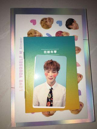 [WTT ONLY] Love Yourself Answer photocards
