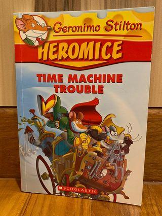 🚚 Geronimo Stilton: Heromice - Time Machine Trouble