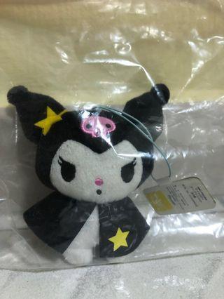 Sanrio Kuromi plush/ soft toy/ stuffed toy keychain (with Sanrio tag)