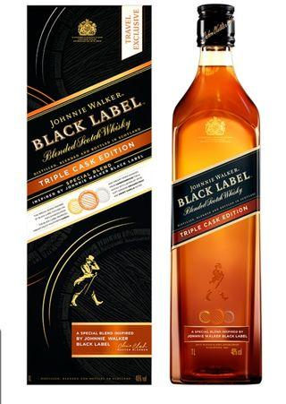 JOHNNIE WALKER  Black Triple Cask Edition 1L