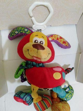 Playgro rattle red