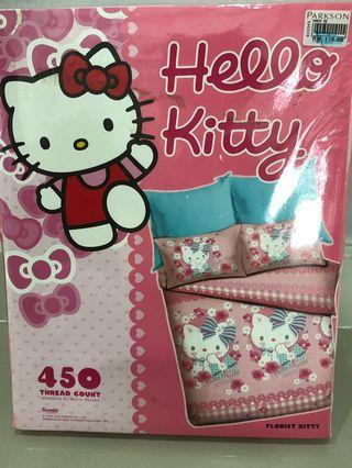 Hello Kitty super single fitted sheet
