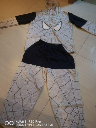 SpiderMan nightwear Cotton