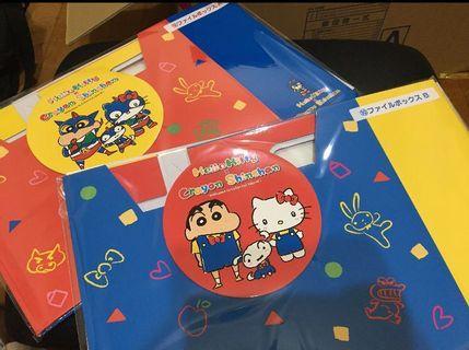 蠟筆小新 x Hello Kitty 一番賞 文件盒