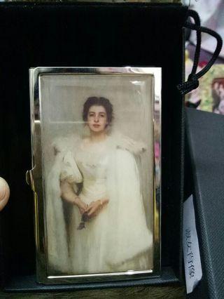 全新奇美博物館典藏名畫銅名片禮盒-淑女肖像