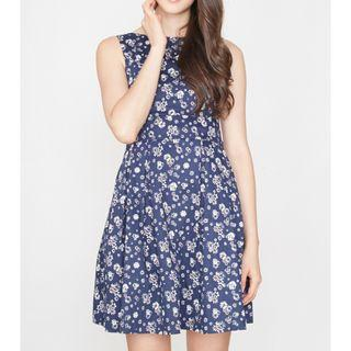 INTOXIQUETTE EVERY WOMAN'S DREAM DRESS IN SNOW FLORALS