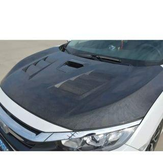 Honda civic Carbon fiber mods