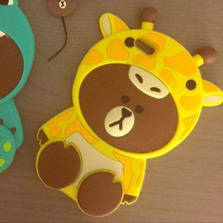 Line friends iPhone 7+/8+ cover