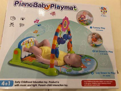 🚚 Piano baby playmat play gym
