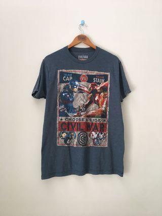 Official Merchandise Ironman vs captain america