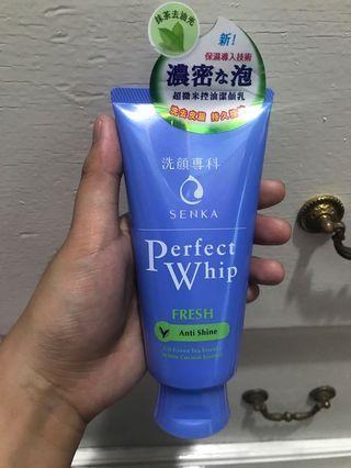 Senka Perfect Whip Anti-Shine Foam Cleanser