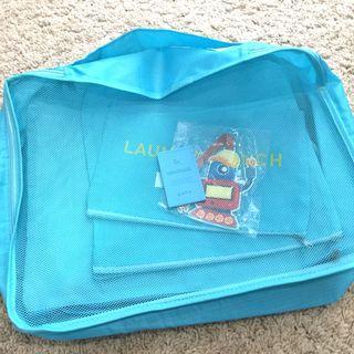 Travel mesh bags & pouches