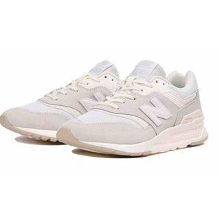 NEW BALANCE 997H 復古 慢跑鞋 米白 麂皮 男女鞋 CM997HCB 轉全新24