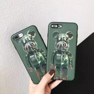 Camo Bear iPhone 7+ Case