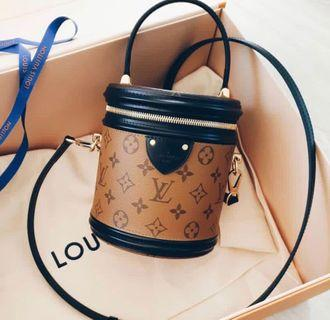 💕🔥BNIB! LOUIS VUITTON LV Cannes Reverse Monogram