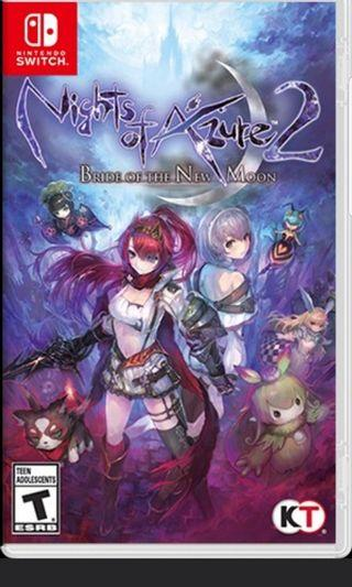 (SWITCH) Nights of Azure 2 : bright of the new moon