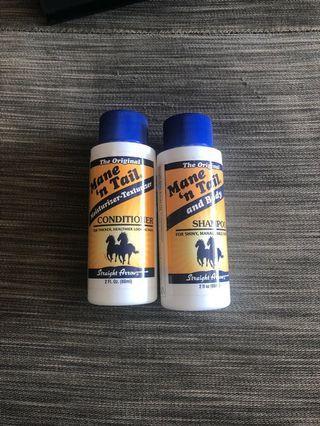 馬油洗髮水護髮素 旅行裝 travel size shampoo