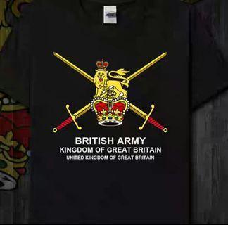 British Army 英軍徽號ㄒ恤(M碼170/84A)