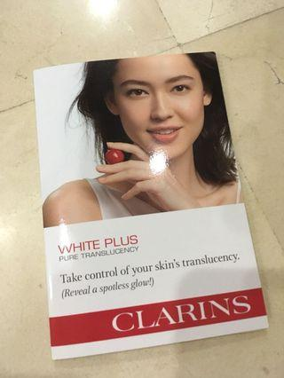Clarins White Plus trio sample
