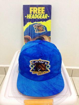 Vintage camel cap