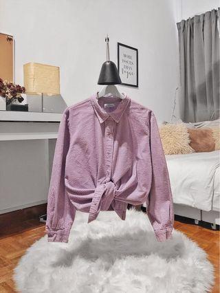 Purple Corduroy Shirt