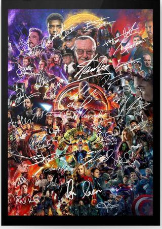 🚚 MARVEL AVENGERS A1 size POSTER